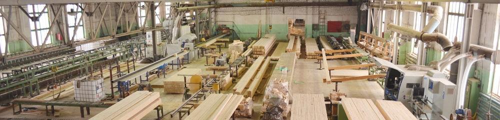 Обработка. Второй этап производства клееного бруса.