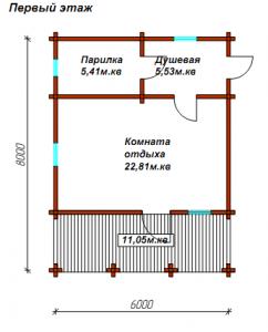 дом баня 1